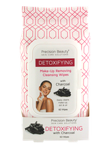 Make Up Removing Cleansing Wipes Charcoal by precision