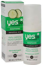 Cucumbers Soothing Daily Calming Moisturizer by yes to