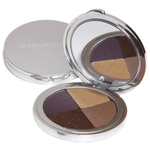 Compressed Mineral Eyeshadow Compact Color Collection - Bella Incanto by La Bella Donna