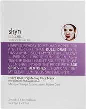 Hydro Cool Brightening Face Mask by skyn iceland