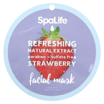 Refreshing Facial Mask - Strawberry by my spa life