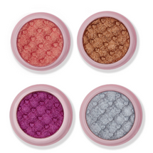 Glimmer Shadow Bundle Set - Cotton Candy, Iced Latte, Huckleberry & French Vanilla by Ace Beauté