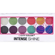 Intense Shine Eyeshadow Palette by city color