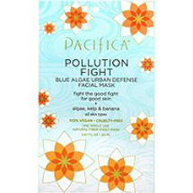 Pollution Fight Blue Algae Urban Defense Facial Mask by pacifica