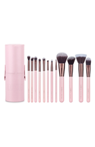 Rose Gold 12 Piece Makeup Brush Set by luxie