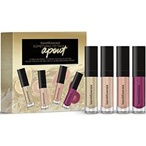 Something to Talk Apout 4-Piece Mini Moxie Plumping Lipgloss Collection by bareMinerals #2