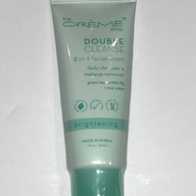 Double Cleanse Facial Foam Cleanser Green Tea + White Lily + Rice Water by The Creme Shop
