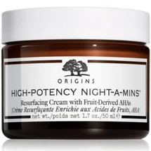 High-Potency Night-a-Mins Resurfacing Cream with Fruit-Derived AHAs by origins