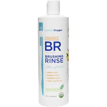 Oxygen Plus Brushing Rinse Peppermint Organic by essential