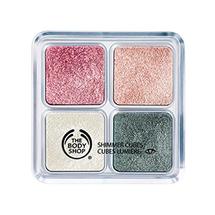 Shimmer Cubes Palette - 21 Pretty In Pink by The Body Shop