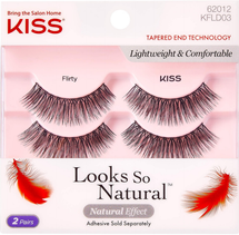 Kiss Looks So Natural Lashes Double Pack Flirty by kiss products