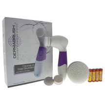 System Purple Handle Facial Brush Attachment Body Brush by Dermabrush