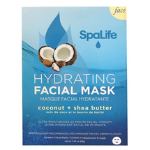 Hydrating Facial Mask Coconut & Shea Butter by my spa life
