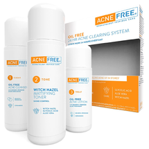 24 Hour Acne Clearing System for Severe Acne with Benzoyl Peroxide And Retino by acnefree