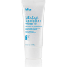 Fabulous Face Lotion by bliss