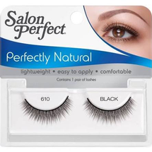Perfectly Natural False Lashes 610 Black by salon perfect