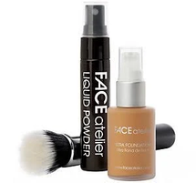 The Flawless Face Foundation Setwith Brush by FACE Atelier