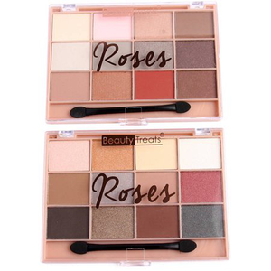 Roses Eyeshadow Palette Set by beauty treats