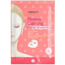 Relieve Calming Facial Sheet Mask by Absolute