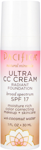 Ultra CC Cream Radiant Foundation by pacifica