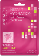 Instant Hydration Facial Sheet Mask by andalou naturals