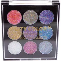 Cream Glitter Eyeshadow Palette by city color