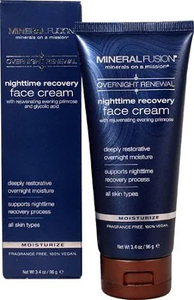 Nighttime Recovery Moisturize Cream by mineral fusion