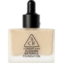 Glossing Waterful Foundation SPF15 PA+ by 3 Concept Eyes