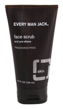 Face Scrub and Pre-Shave Fragrance Free by every man jack
