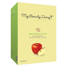 Brightening Clarifying Tightening Pores Mask Apple by my beauty diary