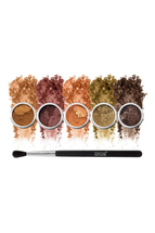 Fuego Eyeshadow 6-Piece Set by Blend Mineral Cosmetics