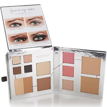 The Fold Out Face Palette Medium Tan by Woosh Beauty