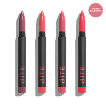 Clean Lip Crayon Set - Summer Pinks by BITE Beauty