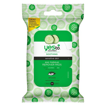 Cucumbers Eye Makeup Remover Pads by yes to