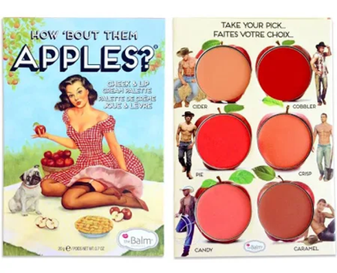 How 'Bout Them Apples? Lip and Cheek Cream Palette by theBalm #2