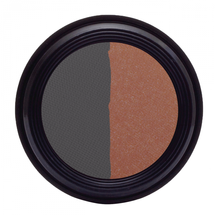Duo Eye Shadow - Navy & Icy Rose by real purity