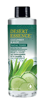 Cucumber & Aloe Facial Toner with Tea Tree Oil by Desert Essence