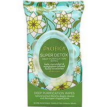 Super Detox Deep Purification Wipes by pacifica