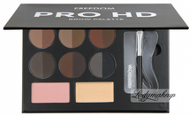 Professional HD Brow Palette - Fair Medium by Freedom Makeup