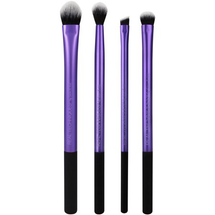 Enhanced Eye Makeup Brush Set 4 Pcs by Real Techniques
