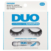 Professional Eyelashes Long And Wispy D13 by Duo