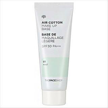 Air Cotton Makeup Base SPF30 PA++ by The Face Shop