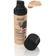 Natural Liquid Foundation Makeup Ivory Nude Ivory Nude by Lavera