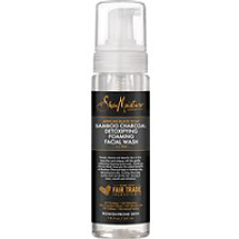 African Black Soap and Bamboo Charcoal Detoxifying Foaming Facial Wash by SheaMoisture