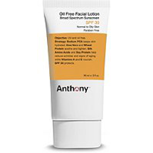 Oil Free Facial Lotion SPF 30 by anthony