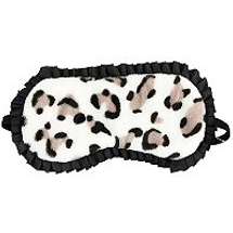 Leopard Print Sleep Mask by the vintage cosmetic company