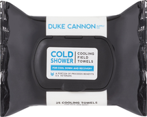 Cold Shower Field Towels Face Body Wipes by duke cannon supply co