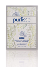 Blue Lotus And Seaweed Anti Aging Face Mask by Purlisse