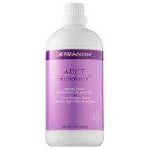 Ain't Misbehavin'® Healthy Toner with Glycolic & Lactic Acid by dermadoctor