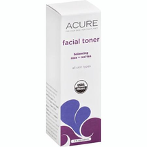 Facial Toner Rose + Red Tea Balancing by acure organics